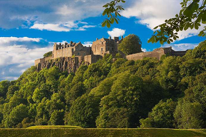Wo die Green Lady spukt: Stirling Castle