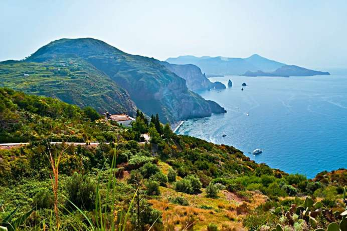 Of volcanic origin: Aeolian Islands
