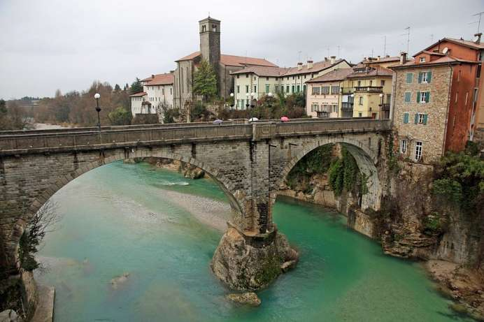The devil's bridge: the symbol of Cividale