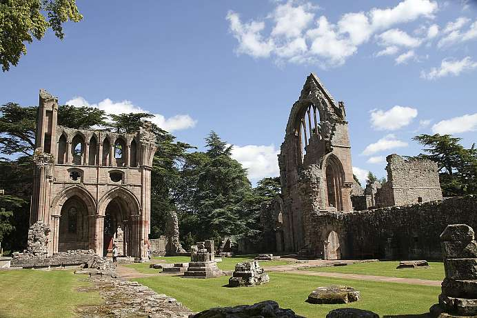 Spiritueller Ort: Melrose Abbey in den Borderlands