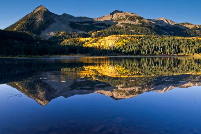 Rocky Mountains bei Crested Butte: Beckwith Lake