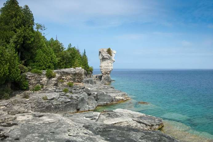 Zerklüftete Küsten: Fathom Five National Park