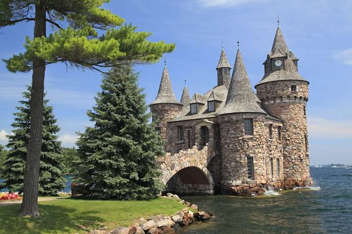 Zauberhafte Inselwelt: Boldt Castle, Thousand Islands