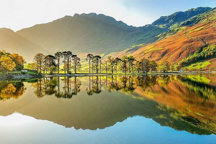 Early morning: Buttermere Lake District