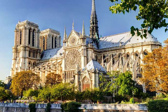 A French Gothic masterpiece: Notre Dame in Paris