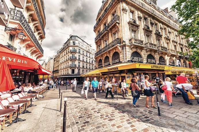Tourists instead of students: Quartier Latin