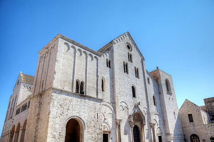 Where St. Nicholas rests: Basilica of San Nicola