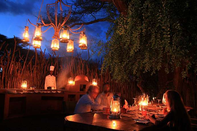 Busch Dinner vom Feinsten: Safaris in Sabi Sand