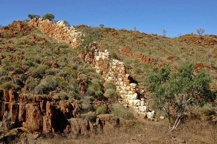 China Wall bei Halls Creek