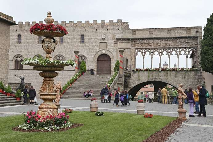 Papal palace in Viterbo