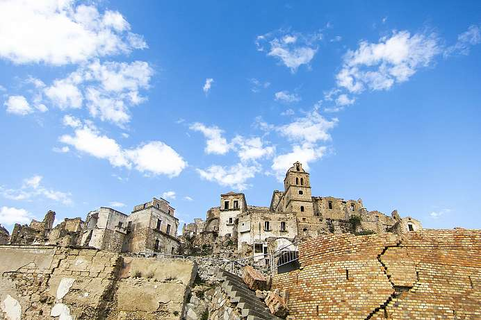 Ghost town: Craco