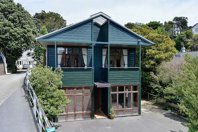 Im Zentrum: B&B in Wellington