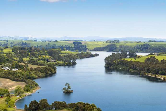 Längster Fluss Neuseelands: Waikato