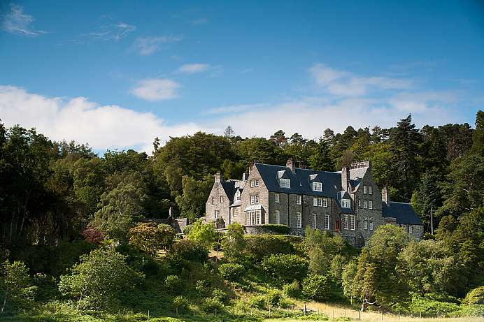 Viktorianische Grandeur: Manor House in Arisaig