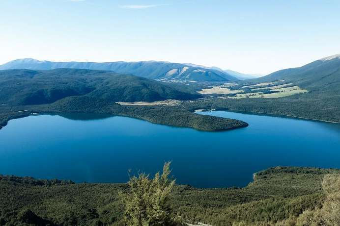 Lake Rotoiti vom Mount Robert
