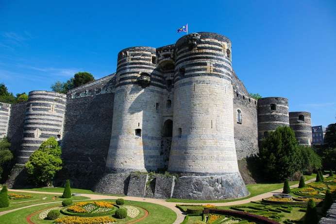 Like a fortress: Chateau d'Angers