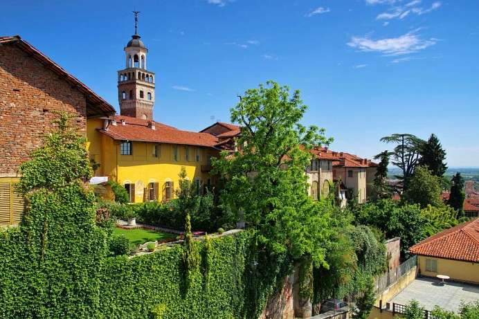 Charming town in the Piedmont: Saluzzo