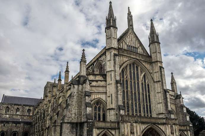 Second-longest cathedral in Europe: Winchester Cathedral