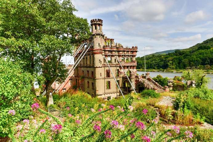 Rheinromantik am Hudson: Banerman Castle