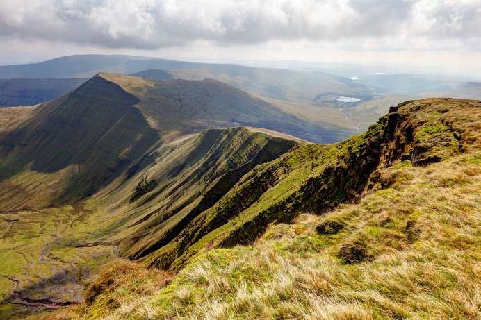 Wild und einsam: Brecon Beacons National Park