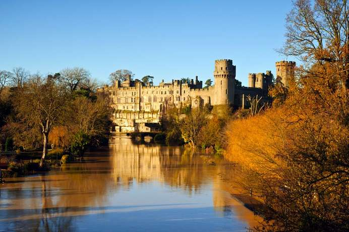 1,100 years of history: Warwick Castle