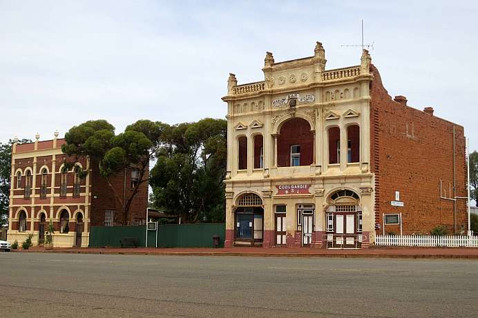 Überbleibsel vom Goldrausch: The Marvel Bar, Coolgardie