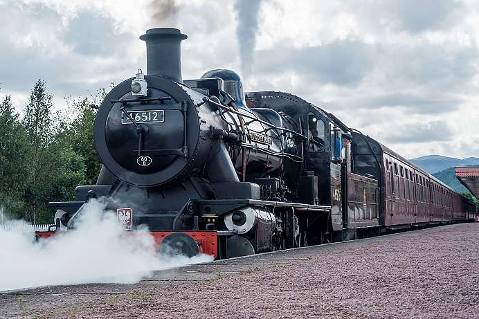Riding the heritage railway: Strathspey Railway
