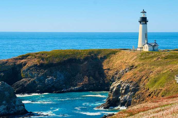Outstanding National Area: Yaquina Head mit Leuchtturm
