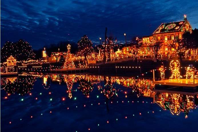 Christkindlmarkt in Bethlehem, Pennsylvania