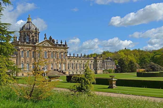 England's first Baroque palace: Castle Howard