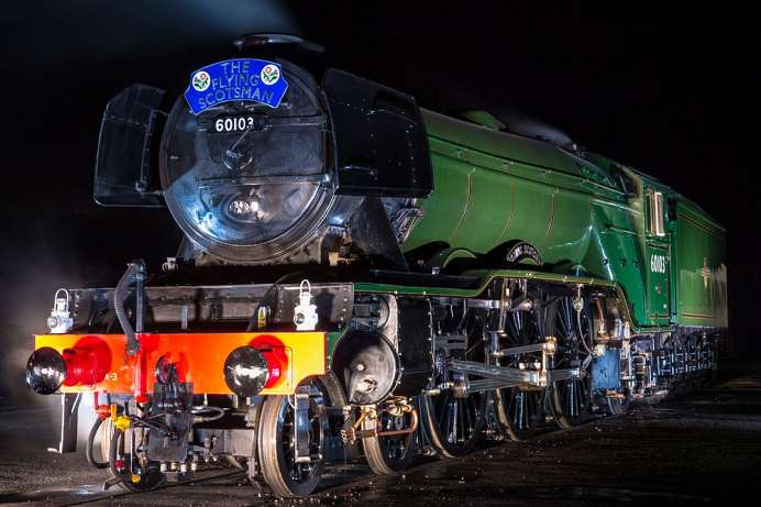 The Flying Scotsman: National Railway Museum