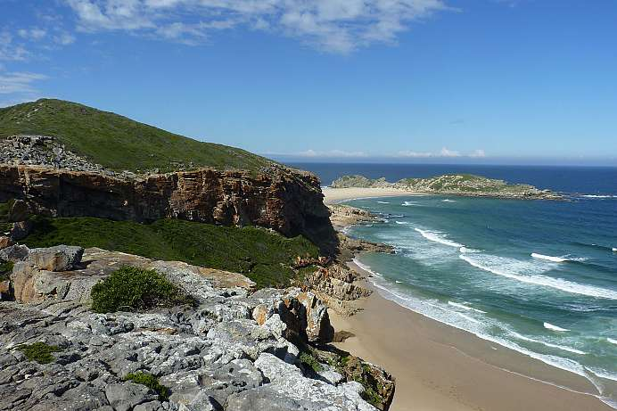 Raue Natur an der Gardenroute: Robberg Nature Reserve
