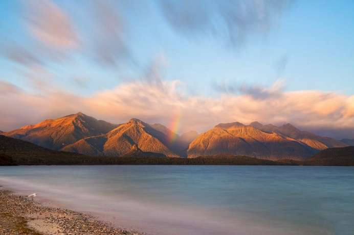 An der Southern Scenic Route: Lake Manapouri