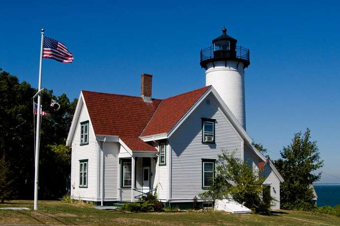 West Chop Lighthouse auf Martha's Vineyard