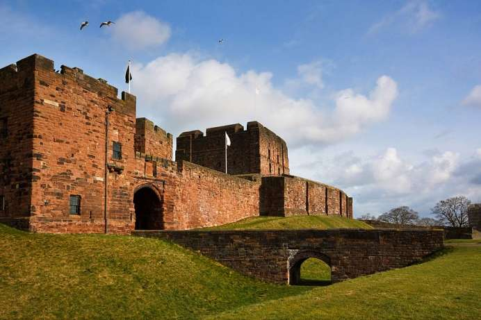 Am Hadrian's Wall: Carlisle