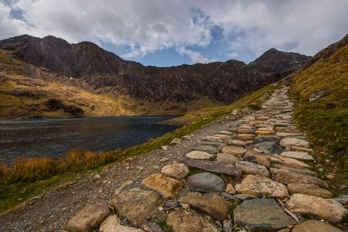 On the old mining trail: Hiking to the top of Snowdon