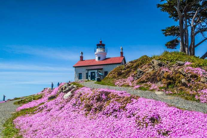 Battery Point Lighthouse bei Crescent City