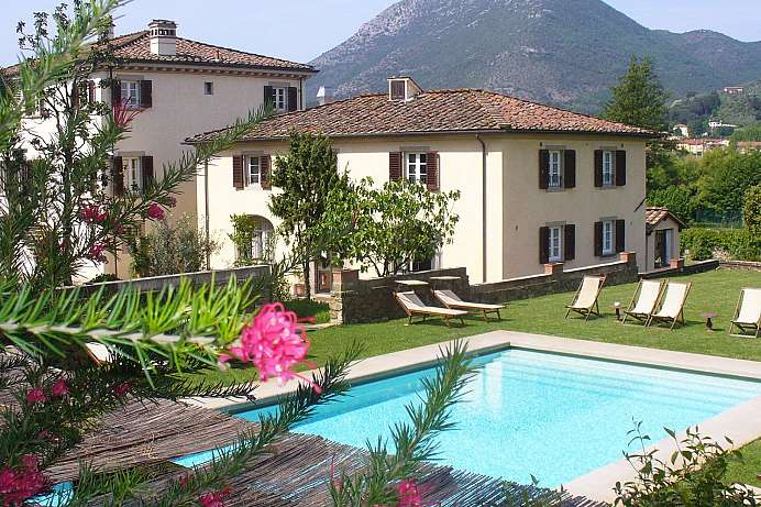 Ideal für die Westtoskana: Country House bei Lucca