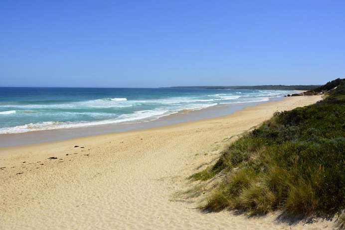 Tip Point Beach bei Mallacoota