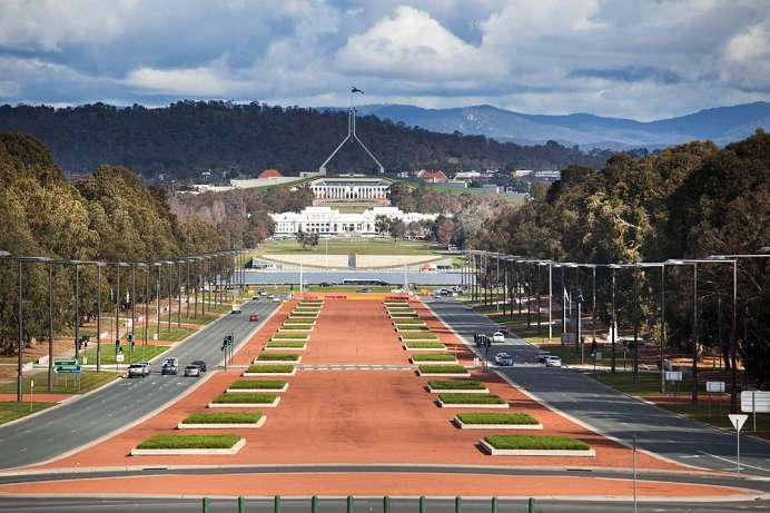 Parlament Australiens: Capital Hill