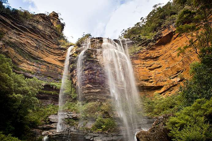 Highlight in den Blue Mountains: Wentworth Falls