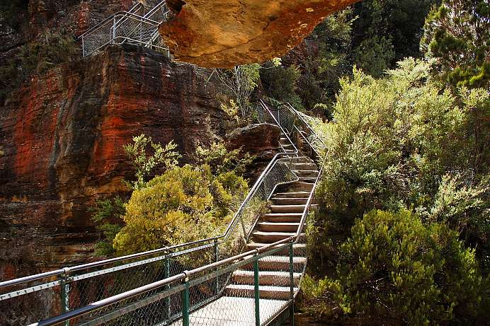 Prince Henry Cliff Walk: Grand Staircase