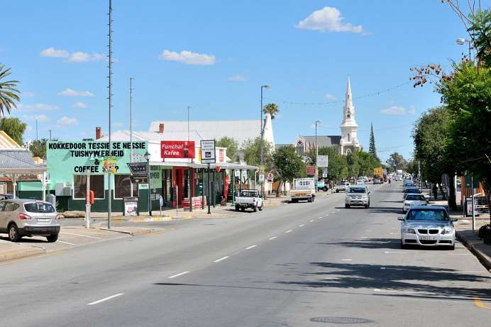 An der N1: Beaufort West