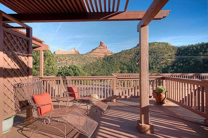 Tolle Aussicht: Bed and Breakfast in Sedona