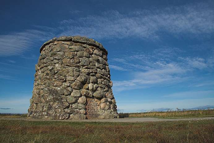 Memorial Cairn in Culloden