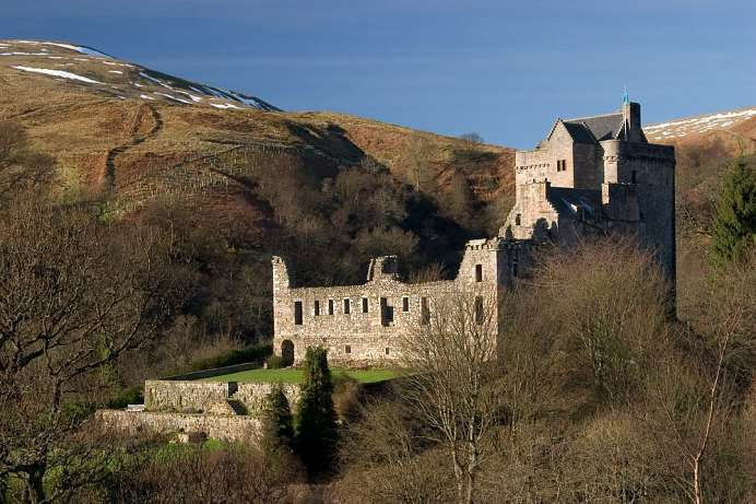 Im Dollar Glen: Castle Campbell