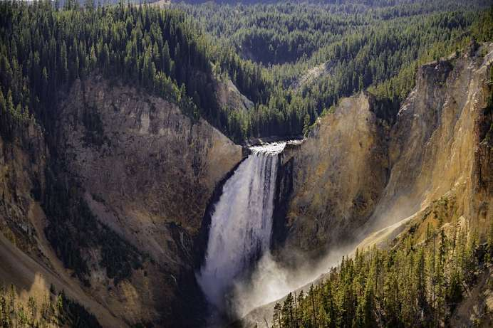 Lower Falls: Grand Canyon of the Yellowstone