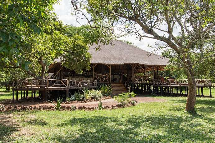 Direkt am Nil: Lodge im Murchison Falls Nationalpark