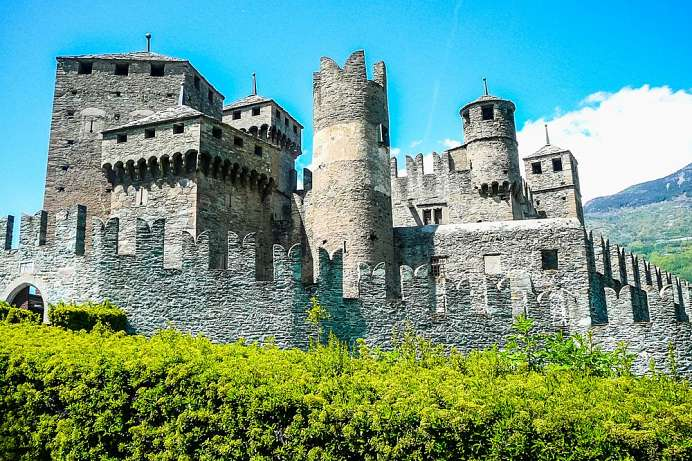 Castello Fenis: Magnificent castle of the Counts Challant