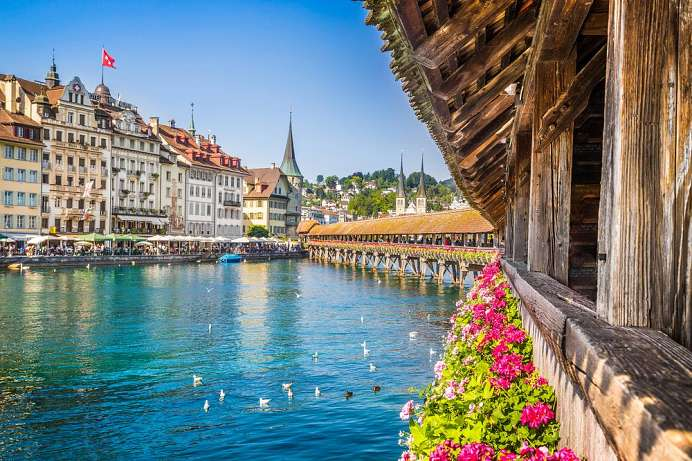 Lucerne, from the Chapel Bridge